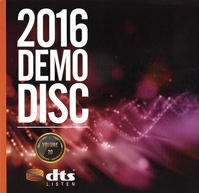 Dts X, Hd-Ma 7.1 Demo Volume 20 Blu Ray Disc Ces 2016 New Sealed