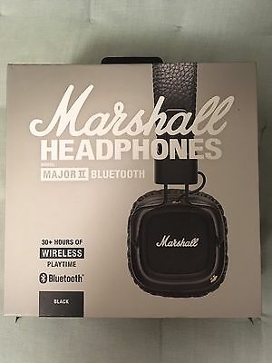 Casque Marshall Major II Bluetooth (complet)