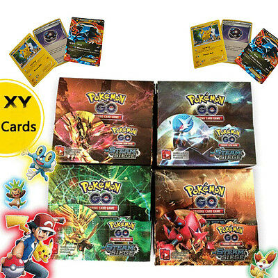 324pc Pokemon Booster Box English Edition Break Point 36 Packs Card Random Sale