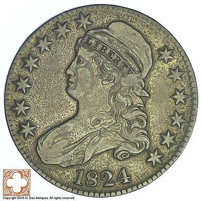 1824 Capped Busted Half Dollar *XB63