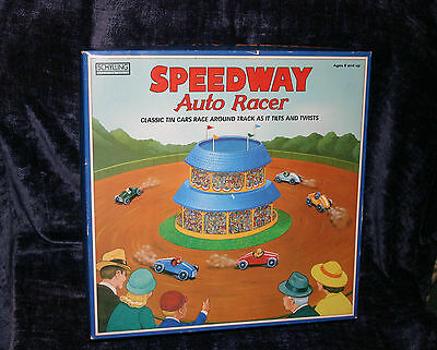 Schylling Collectors Series Speedway Auto Racer Tin Cars