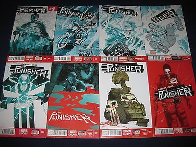The Punisher 18 Issues (2014-2015) Marvel Now