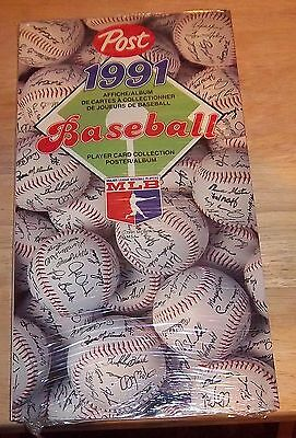 Post Cereal  Baseball Album  1991  ( Promo )