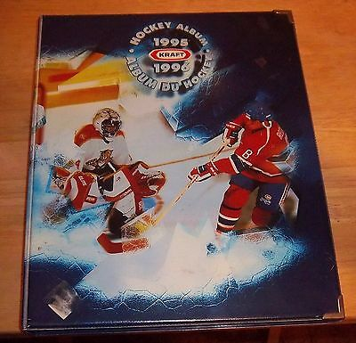 Kraft Hockey Albums complete with cards 1995-96