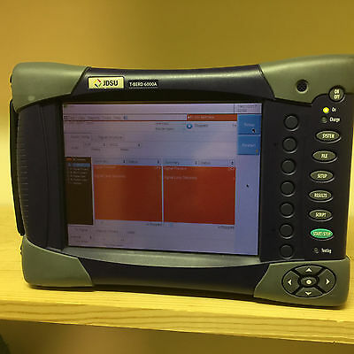 JDSU T-BERD 6000A Touchscreen 10M 1G Ethernet | MSAM C0400 - Tested!