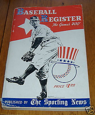 the sporting news  baseball registar 1941 2nd issue