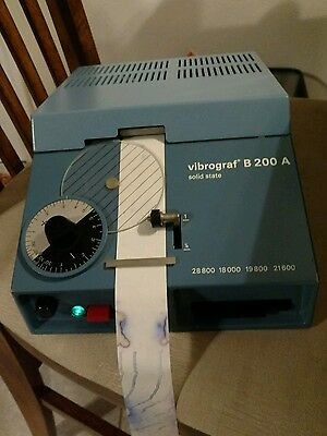 VIBROGRAF B200 A Watchmakers Solid State Timing Machine works