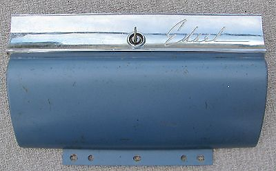 1959 Edsel Glove Box Door c/w lock & key