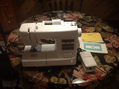 Brother XL-2027 Sewing Machine Tested And Works Comes With Paperwork Foot Pedal