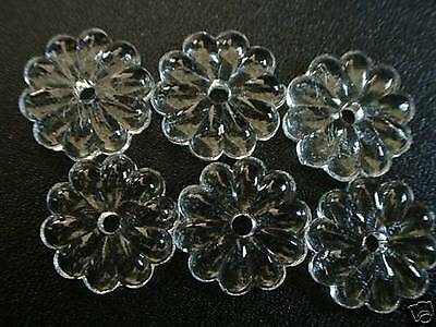 30Mm Crystal Glass Vintage Style Rosette Chandelier Prism X'mas Decor New Bead 6