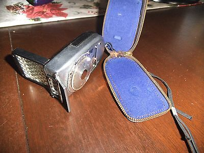 Sekonic Leader Deluxe-2 Light Meter - In Leather Pouch - looks old