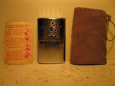 VINTAGE SCOTCHLINE HANDWARMER No. V199HW COMPLETE WITH INSTRUCTIONS AND COVER