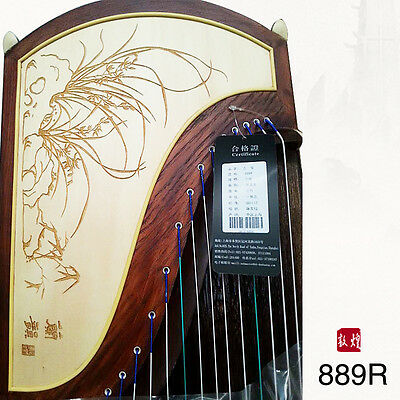 Guzheng 21-stringed African Sandalwood 889R Orchid