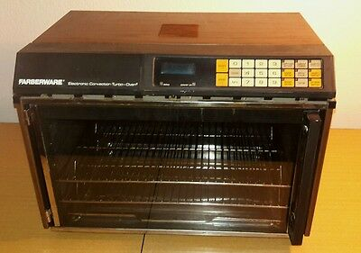 Farberware 467 push button Turbo Convection Oven/Dehydrator~Timer doesn't work**