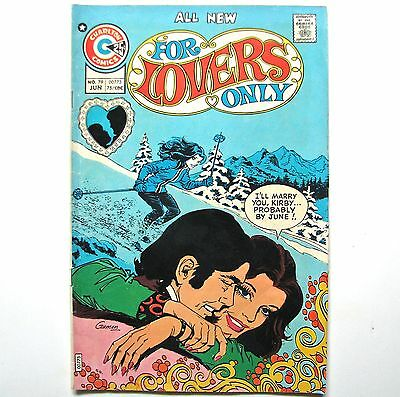 For Lovers Only - Charlton Comics - #79 - 1975