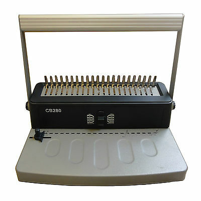 Manual Comb Binding Machine 21 Rings