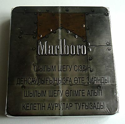 Marlboro Metal Box Vintage OLD Packaging