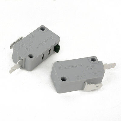 2Pcs Microwave Oven KW3A Door Micro Switch Normally Close for DR52 125V/250V NEW