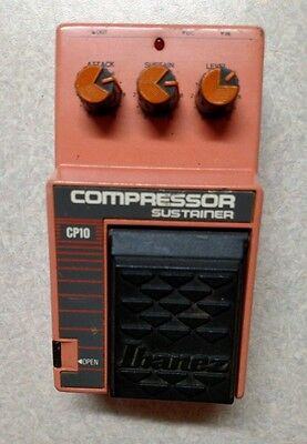 Ibanez Compressor CP10 Sustain Pedal Tested, works great!  Ships FREE
