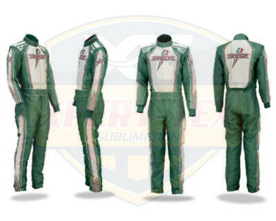 Sublimatio New Tony Kart Go Kart Race Suit CIK/FIA Level 2 (Free gifts Included)