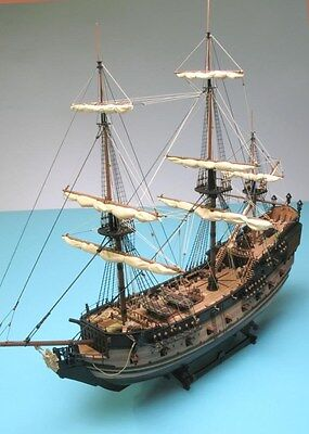 Build The Black Pearl Complete, Complete Wooden model Collectors kit