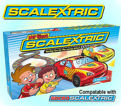 My First Scalextric Racing Set 1:64 Scale