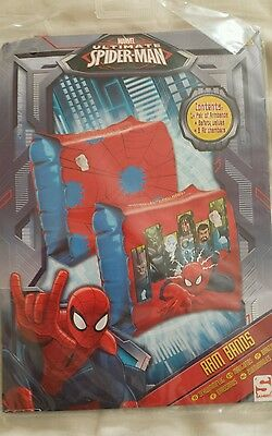 New spiderman armbands age 3-6 years
