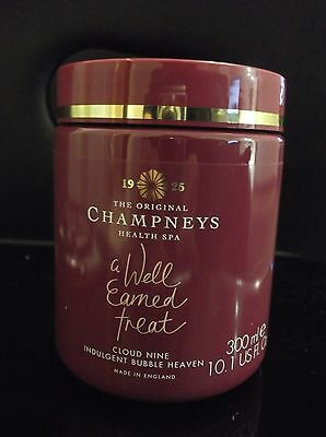 Champneys!  'cloud Nine' Fragranced Indulgent Bubble Heaven - 300 Ml Valentines