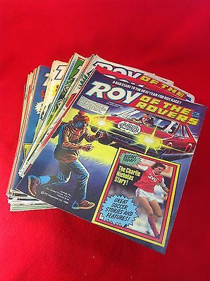 ROY OF THE ROVERS : Comics - 1987 Full Year : 52 Issues