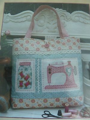 """Old Gertie"" Patchwork Bag Kit from The Rivendale Collection by Sally Giblin"