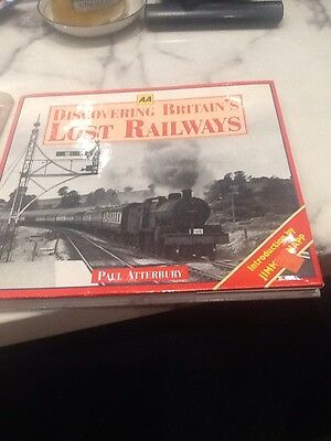 Aa Book Discovering Britians Lost Trains