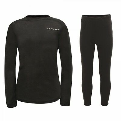 DKU301 Dare 2b Slimmer Down Kids Childrens Youths Thermal Base Layer Set MRP £25