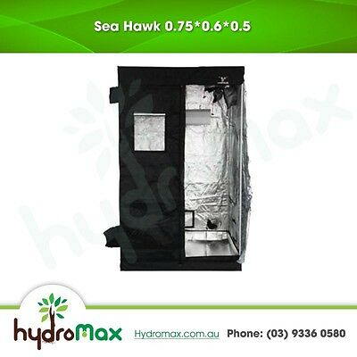 Hydroponic SeaHawk Grow Tent 75 cm x 60cm x 50cm Durable Quality Indoor Grower