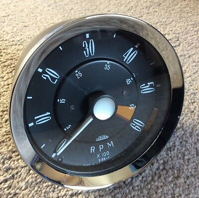 Jaeger Mechanical Revcounter Converted To Electronic , Triumph Spitfire