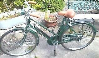Amazing condition 1940s/50s 'All steel' Raleigh ladies bicycle