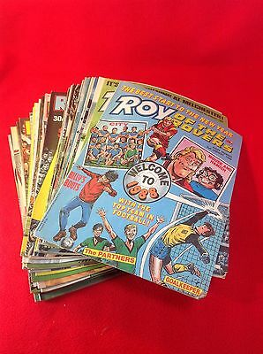ROY OF THE ROVERS : Comics - 1988 Part Year : 42 Issues