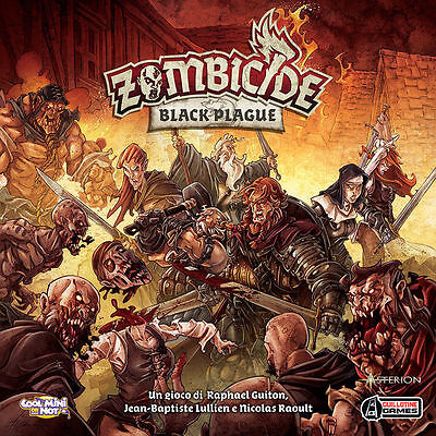 ZOMBICIDE BLACK PLAGUE - Gioco da tavolo BASE Italiano by Asterion Asmodee