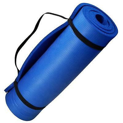 Non Slip Yoga Exercise Fitness Workout Mat Physio Pilates Festivals Camping Gym