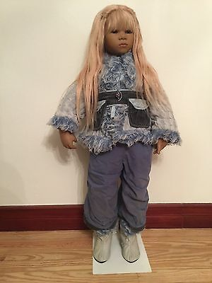 Annette Himstedt - LE collectable doll - BIRKA - COA - Box/Shipper - Insured