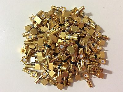 gold plated connectors scrap 70 gram lot for gold recovery