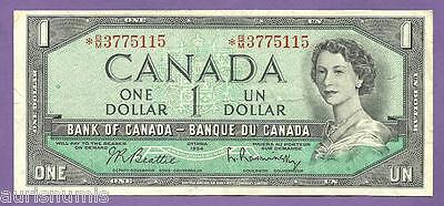[AN] QEII Canada $1 1954 Star Replacement VF
