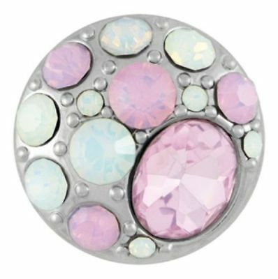 Buy 4, Get 5Th $6.95 Snap Free Ginger Snaps™ Jewelry Brooch - Frosty Pinks