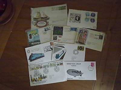 First Day Covers X9