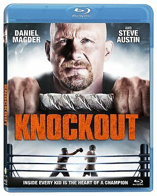 "NEW BLU RAY - KNOCKOUT - ""Stone Cold"" Steve Austin, Daniel Magder ,"