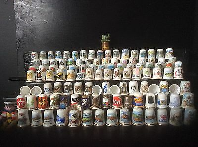 Thimbles Collectable Mixed.china Etc.r.n.l.i.peter Rabbit.claire,mother,v.g.c.