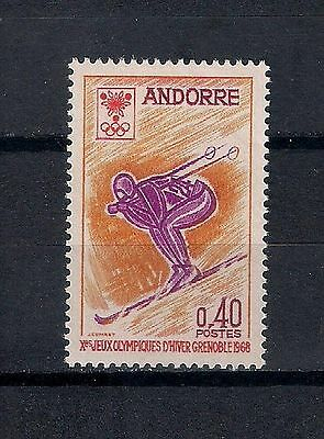 French Andorra 1968 Mnh ** - Sport - 5/28