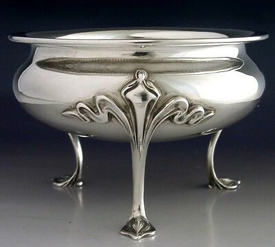 STUNNING ENGLISH SOLID STERLING SILVER ART NOUVEAU BOWL 1924 ANTIQUE 231g