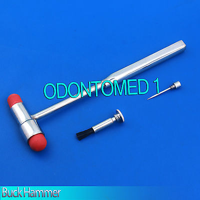 ODM Brand New 1 Pcs Neurological Buck Reflex Hammer- Color Red Medical Instrumen