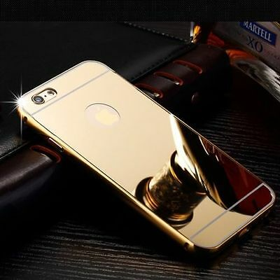 Luxury Aluminum Ultra-Thin Gold Mirror Metal Case For iPhone 6s Plus{[lw85