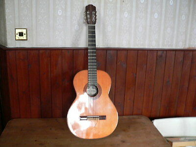 vintage kiso suzuki model no 70 classical guitar made in japan